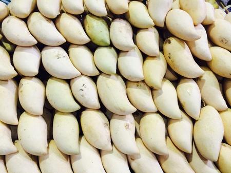 mang: Mango fruit Stock Photo
