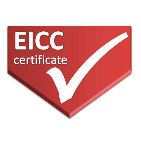 certificate symbol of the electronics industry code of conduct