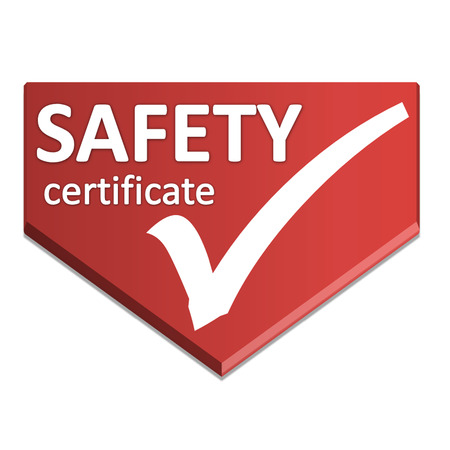 certificate symbol of safety