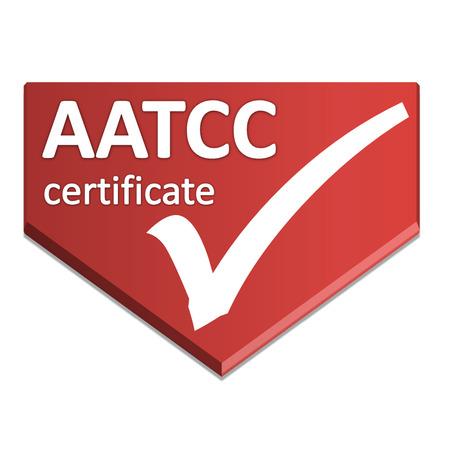 certificate symbol of laboratory testing Stock Photo