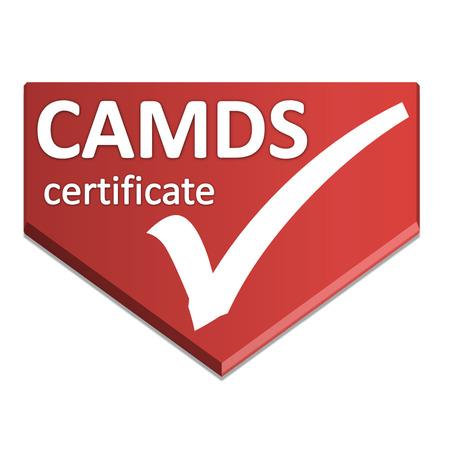 certificate symbol of iternation material data system