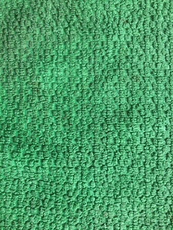 back: Background texture pattern of green fabric