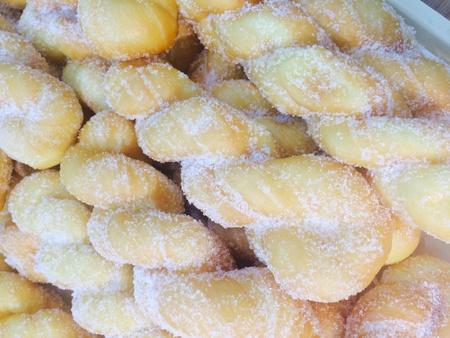 cotton: Cake baked bread Stock Photo