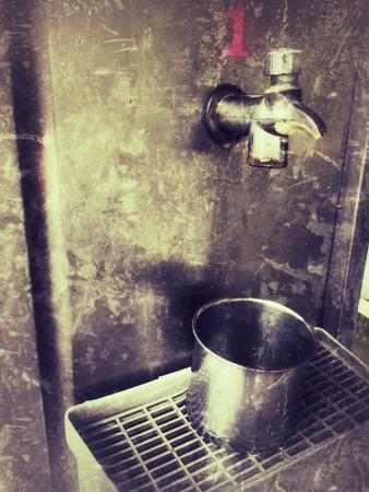 metallic: Vintage Drinking faucet