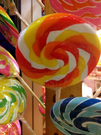 style: thai sweets Stock Photo