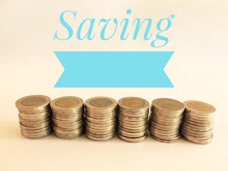 Ten baht photo background of thai money, business finance concept