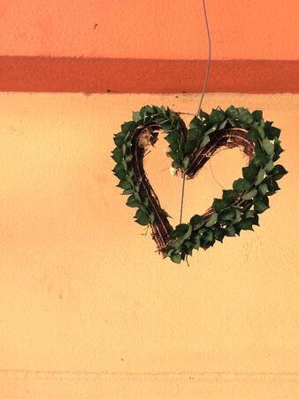 Heart-shaped tree hanging garden decoration