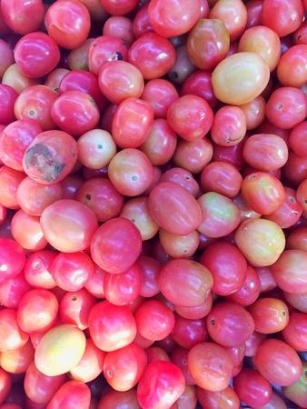 raw fresh tomato Stock Photo