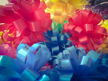 gift bow for decoration present new year