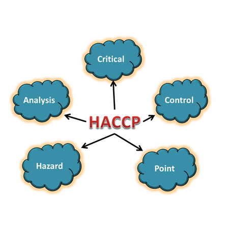 meaning of haccp abstract Stock Photo
