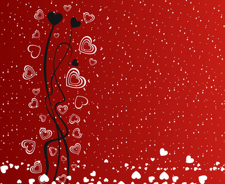 Valentines Day Heart element for design Vector