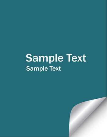 fresh labels with smple text