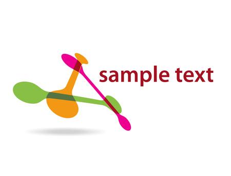 DNA background, vector illustration