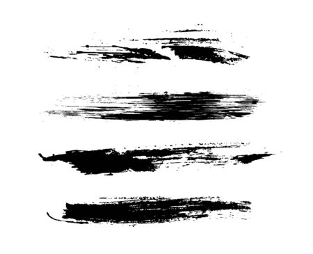 diffrent brushes set of grunge vector