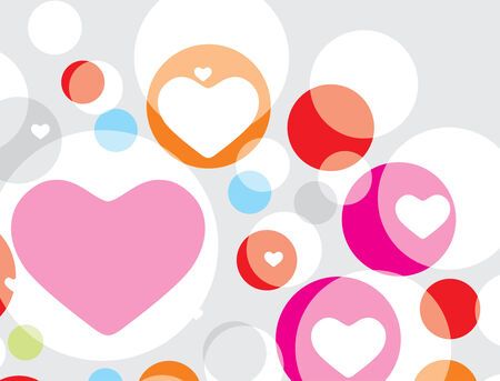 Valentines Day seamless pattern with hearts Stock Vector - 4743627