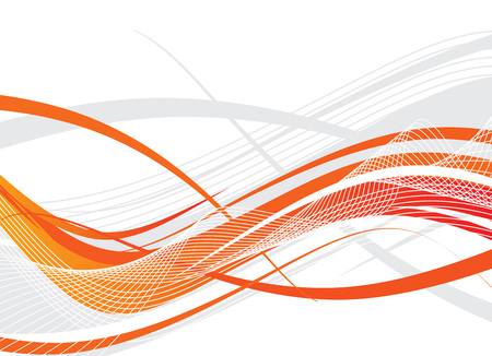 Abstract lines background with white background Vector