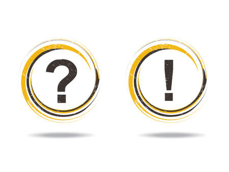 question web icons for your web page! Vector