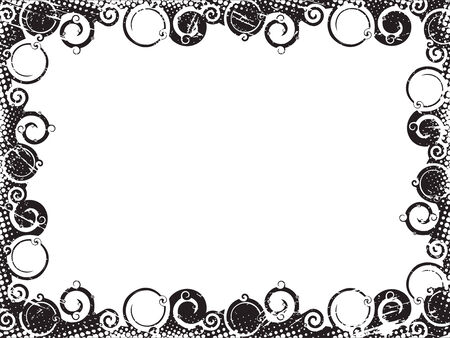 Abstract line swirl broader background. Vector illustration.