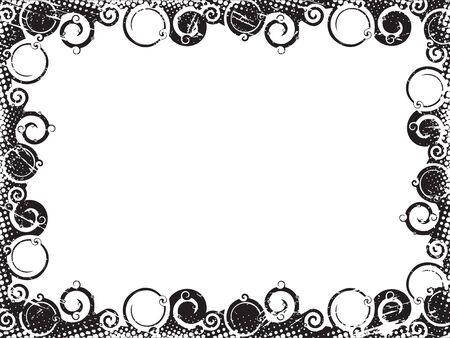Ligne abstraite agiter le contexte plus large. Illustration vectorielle.