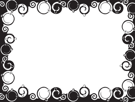 Abstract line swirl broader background. Vector illustration. Vector