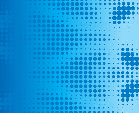 abstract background made from blue dots Vector