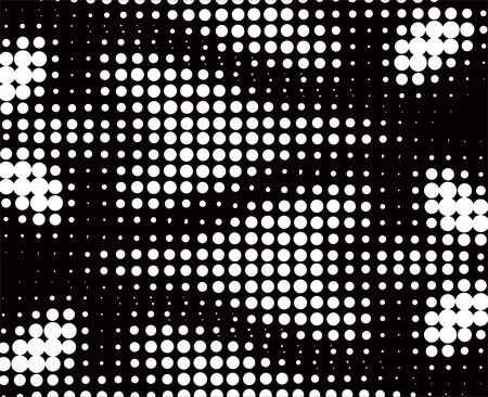 abstract background made from black dots Vector