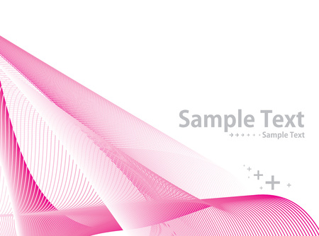 abstract  background with white wave line. Vector