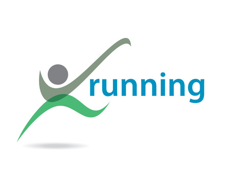 Logos with your running company name Vector