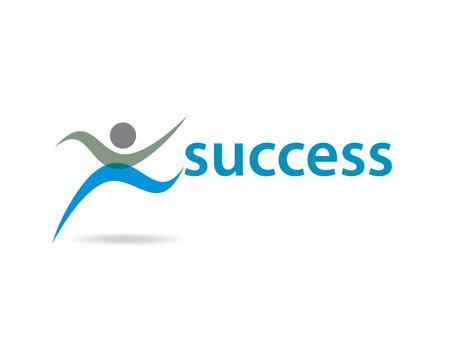 logo poisson: Logos avec votre nom d'entreprise succession Illustration
