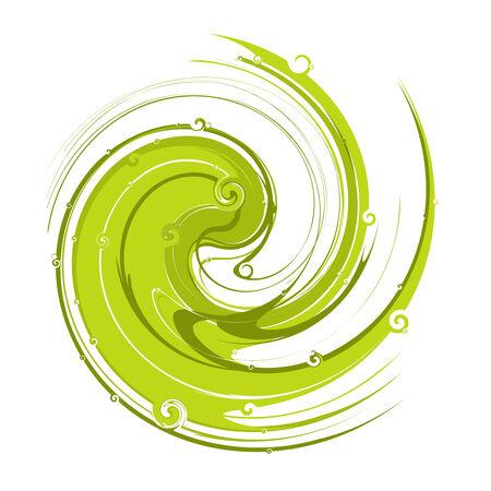 abstract swirl spirals background,vector illustration