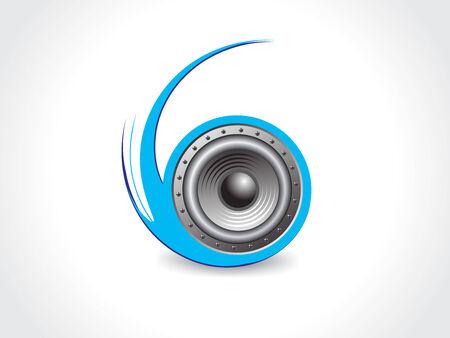 spirals Music theme  Vector