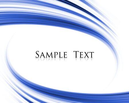 sample text: composici�n abstracta azul onda con texto de ejemplo