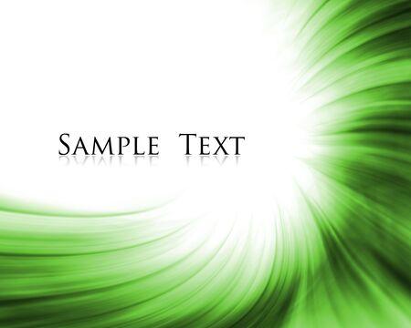 sample text: composici�n abstracta verde con texto de ejemplo
