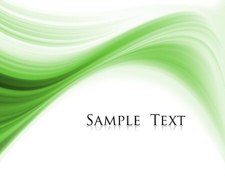 sample text: onda verde resumen composici�n con texto de ejemplo