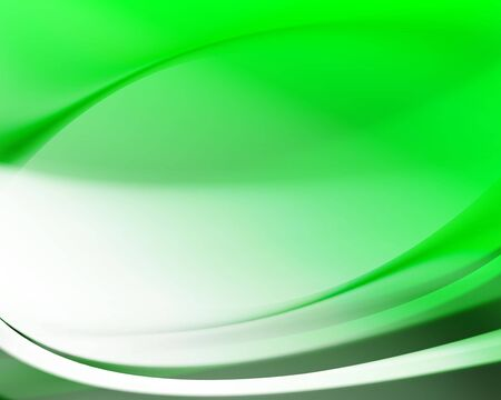 green wave abstract background  Stock Photo - 4771003