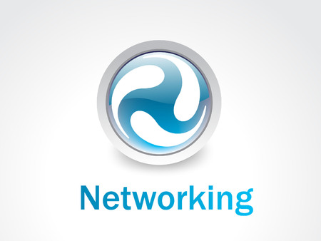 networking logo Stock Vector - 4797951