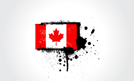 Canada flag with correct dimensions Vector