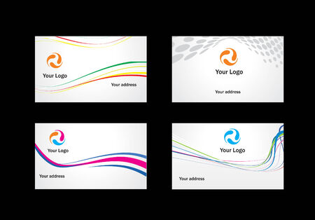 business card templates to choose from Vector