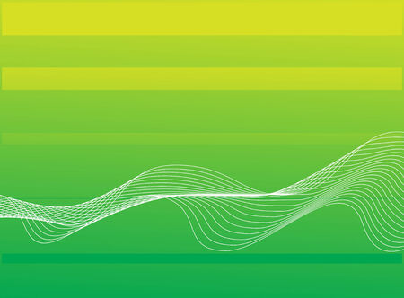 abstract background, stylized waves Stock Vector - 5023670