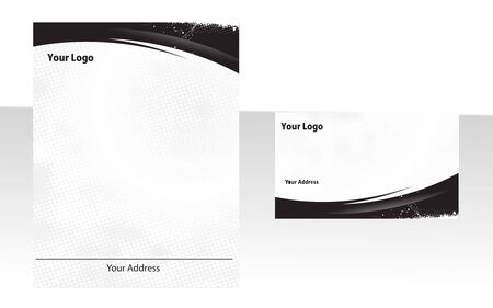 stationery set: Business stationery set.