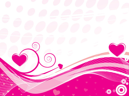 This is a valentine's day background Stock Vector - 5023716