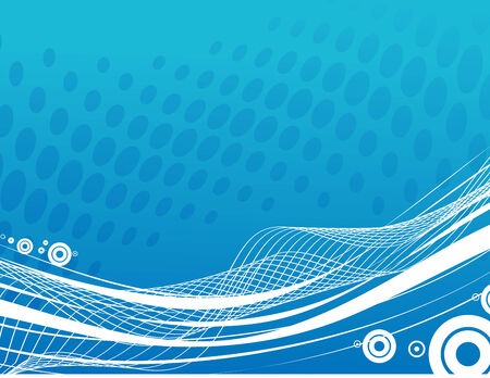 abstract Line art background, stylized waves Stock Vector - 5023749