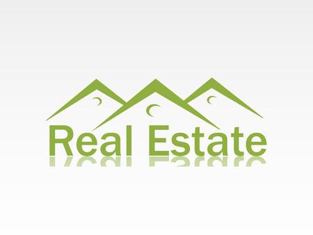 home care: real estate logo Illustration