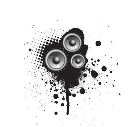 speaker box: Grunge Parte de altavoces