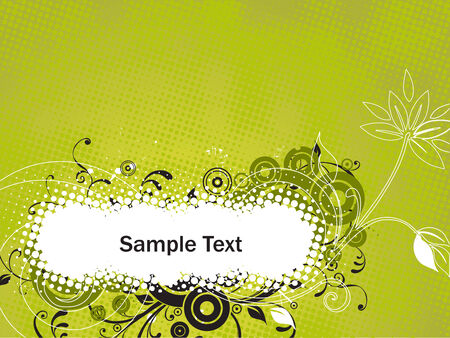valentineday: Grunge paint flower background with sample text