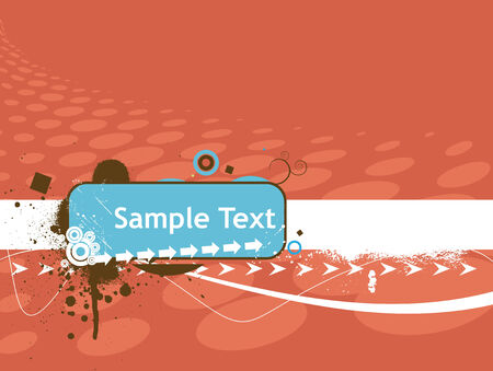 halftone sample text vector illustration   Vector