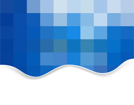 Abstract background made from squares Vector
