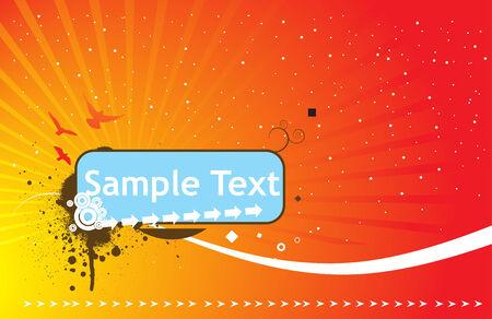 halftone sample text vector illustration Vector