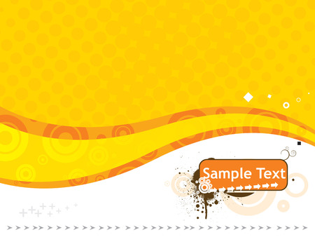 sample text vector illustration isolated on white Vector
