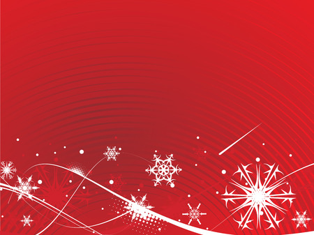 Abstract Christmas wave  background with snowflakes. Vector Illustration.Abstract Christmas wave  background with snowflakes. Vector Illustration. Vector
